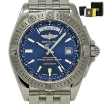 Breitling Galactic 44 Steel 43mm Blue United States of America, Florida, Miami