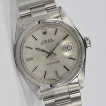 Rolex Oyster Precision Steel 34mm Silver
