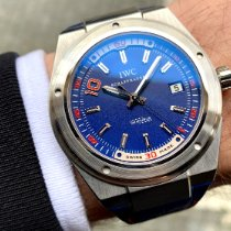 IWC Ingenieur Automatic Steel 44mm Blue Arabic numerals