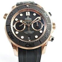 Omega Seamaster Diver 300 M 210.62.44.51.01.001 Nou Aur roz 44mm Atomat