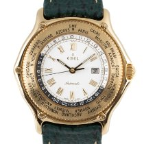 Ebel Voyager Yellow gold 39mm White