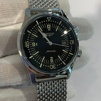 Longines Legend Diver Steel 42mm Black Arabic numerals United States of America, Iowa, Des Moines