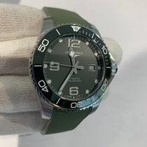 Longines HydroConquest Steel 43mm Green Arabic numerals United States of America, Iowa, Des Moines