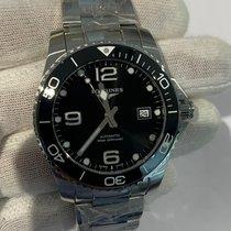 Longines HydroConquest Steel 41mm Black Arabic numerals United States of America, Iowa, Des Moines