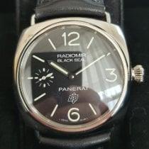 Panerai Radiomir Black Seal Сталь 45mm Черный Aрабские