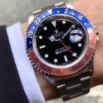 Rolex 16710 Aço 2005 GMT-Master II 40mm usado