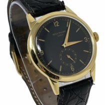 Patek Philippe Calatrava Yellow gold 35mm Black Arabic numerals