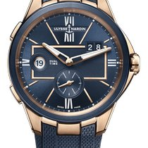 Ulysse Nardin Executive Dual Time new 2021 Automatic Watch with original box and original papers 242-20-3/43