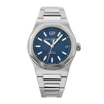 Girard Perregaux Laureato Steel 42mm Blue No numerals United States of America, New York, New York