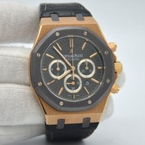 Audemars Piguet Royal Oak Chronograph Ouro rosa 41mm Sem números