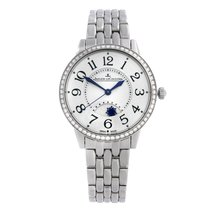 Jaeger-LeCoultre Rendez-Vous Steel 34mm Silver Arabic numerals United States of America, New York, NYC