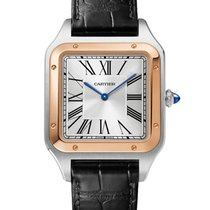 Cartier W2SA0017 Steel 2021 Santos Dumont 46.6mm new