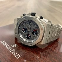 Audemars Piguet Titanium Automatic Grey Arabic numerals 42mm new Royal Oak Offshore Chronograph
