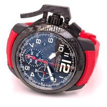 Graham Chronofighter Oversize 2CCBK.B11A Very good Carbon 47mm Automatic