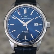IWC Ingenieur Automatic Steel Blue No numerals United States of America, Massachusetts, Boston