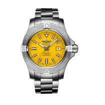 Breitling Avenger Seawolf Steel 45mm Yellow No numerals United States of America, Iowa, Des Moines