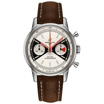 Breitling Top Time Steel 41mm Silver No numerals United States of America, Iowa, Des Moines