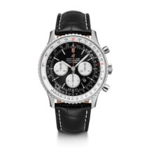 Breitling Navitimer 01 (46 MM) Steel 46mm Black United States of America, Iowa, Des Moines