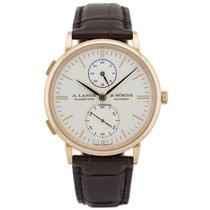A. Lange & Söhne Saxonia Rose gold 38.5mm No numerals