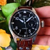 IWC Steel Automatic Black Arabic numerals 46mm pre-owned Big Pilot