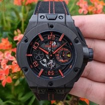 Hublot Big Bang Ferrari 402.QU.0113.WR Very good Carbon 45mm Automatic
