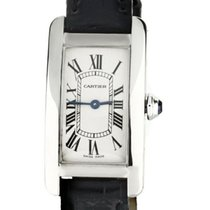 Cartier Tank Américaine White gold 35mm Silver