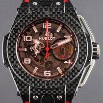 Hublot Big Bang Ferrari 401.QX.0123.VR Muy bueno Carbono 45mm Automático