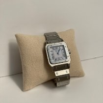 Cartier Aluminum Automatic White 29mm pre-owned Santos (submodel)