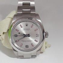 Rolex Oyster Perpetual 31 Acero Plata Arábigos