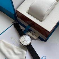 Eterna новые Кварцевые Малый секундный циферблат 34mm Сталь Сапфировое стекло