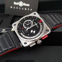 Bell & Ross BR 01-94 Chronographe Сталь 45mm Черный Aрабские