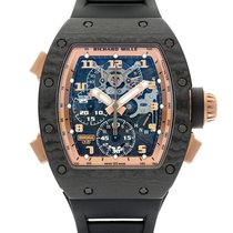 Richard Mille Carbon Manual winding Transparent 42mm pre-owned