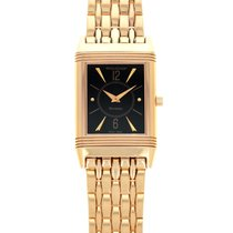 Jaeger-LeCoultre Reverso Classique pre-owned 23mm Black Rose gold