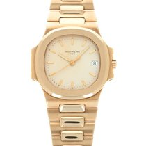 Patek Philippe Nautilus Yellow gold 37mm Champagne United States of America, California, Beverly Hills