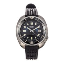 Seiko Steel Automatic 45mm pre-owned Prospex