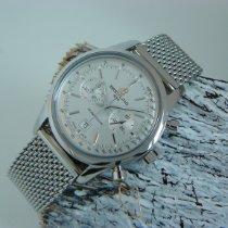 Breitling Transocean Chronograph 38 Acero 38mm Plata Sin cifras