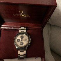 Tudor Oysterdate Big Block Steel 40mm Silver No numerals United States of America, New Jersey, Upper Saddle River