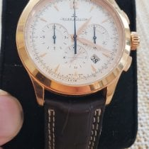 Jaeger-LeCoultre Master Chronograph Rose gold 40mm Blue Arabic numerals