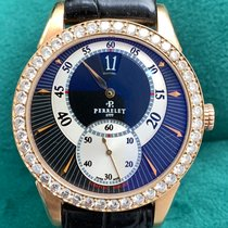 Perrelet Rose gold Automatic Black 40mm pre-owned