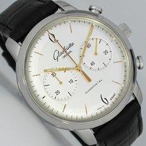 Glashütte Original Sixties Chronograph Stahl 42mm Silber Arabisch Deutschland, Dresden