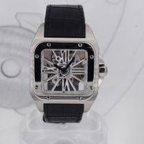 Cartier Santos 100 Палладий Прозрачный