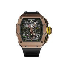 Richard Mille Rose gold Automatic Transparent Arabic numerals new RM 011