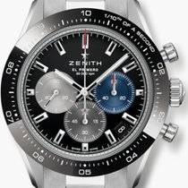 Zenith Steel 41mm Automatic 03.3100.3600/21.M3100 new