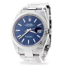 Rolex Datejust Steel 41mm Blue No numerals United Kingdom, London