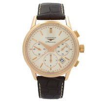 Longines Heritage Rose gold 40mm Champagne United States of America, New York, NYC