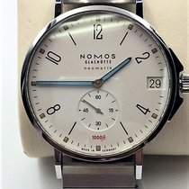 NOMOS Tangente Neomatik Steel 42mm White Arabic numerals United States of America, Texas, Houston