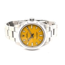 Rolex Oyster Perpetual 31 pre-owned 31mm Yellow Steel