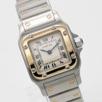 Cartier Santos Galbée Gold/Stahl 24mm Weiß Römisch Deutschland, München