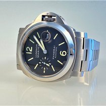Panerai Luminor Marina Automatic Otel 44mm Negru Arabic