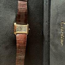 Cartier Tank Divan Yellow gold 38mm Roman numerals